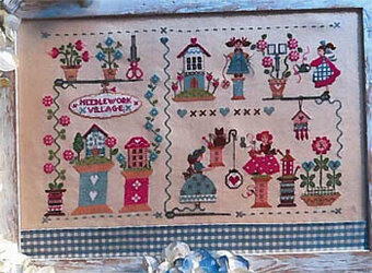 Needlework Village - Cross Stitch Pattern