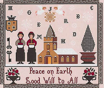 Good Will to All Sampler - Cross Stitch Pattern