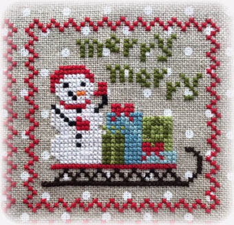 Snowy 9 Patch - Part 3 - Cross Stitch Pattern