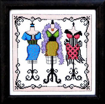 With Glamour - Cross Stitch Pattern