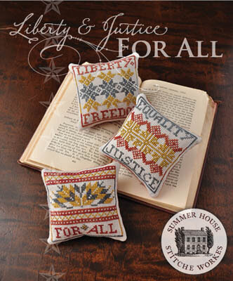 Liberty & Justice for All - Cross Stitch Pattern