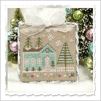 Glitter House 7 - Cross Stitch Pattern