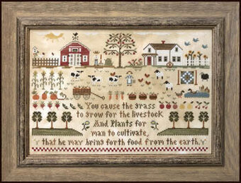 Farm Life - Cross Stitch Pattern