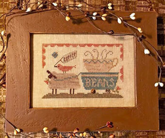 Delivering the Coffee Beans - Cross Stitch Pattern