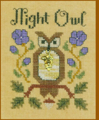 Night Owl - Cross Stitch Pattern