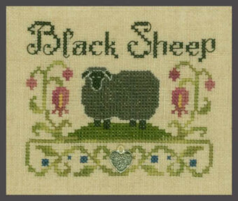 Black Sheep - Cross Stitch Pattern