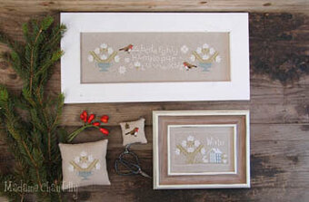 Season Sampler - Winter - Cross Stitch Pattern