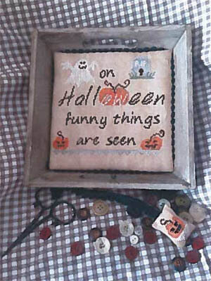 Funny Things on Halloween - Cross Stitch Pattern
