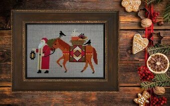 Santa's 2019 Trilogy 1 - Cross Stitch Pattern