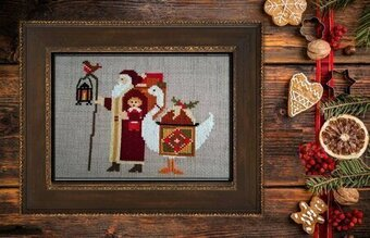 Santa's 2019 Trilogy III - Cross Stitch Pattern