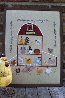 Chicken Coop - Cross Stitch Pattern