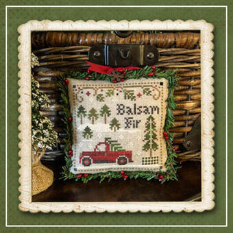 Balsam Fir - Jack Frost's Tree Farm 4 - Cross Stitch Pattern