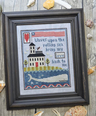 Widows Walk - Cross Stitch Pattern