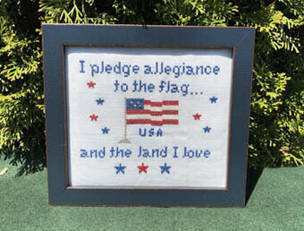 USA - Cross Stitch Pattern