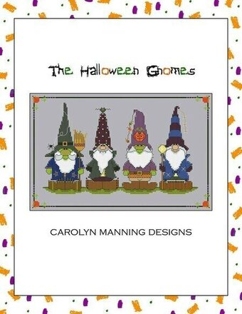 Halloween Gnomes, The - Cross Stitch Pattern