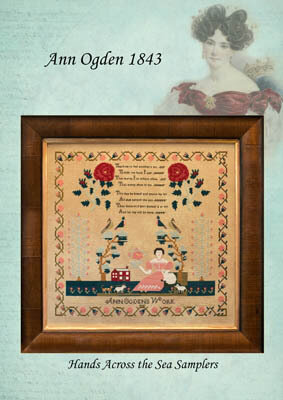 Ann Ogden 1843 - Cross Stitch Pattern