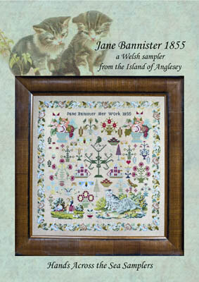 Jane Banister 1855 - Cross Stitch Pattern