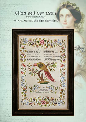 Eliza Bell Cox 1832 - Cross Stitch Pattern