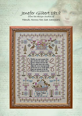 Jenefer Gilbert 1818 - Cross Stitch Pattern