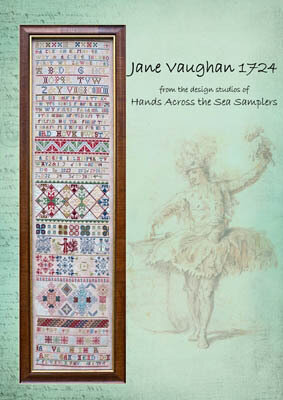Jane Vaughan 1724 - Cross Stitch Pattern