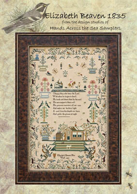 Elizabeth Beavan 1835 - Cross Stitch Pattern