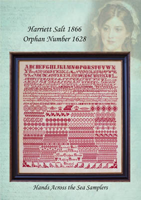 Harriett Salt 1866 - Cross Stitch Pattern