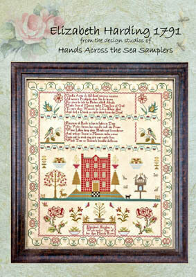 Elizabeth Harding 1791 - Cross Stitch Pattern