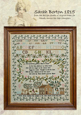 Sarah Borton 1815 - Cross Stitch Pattern