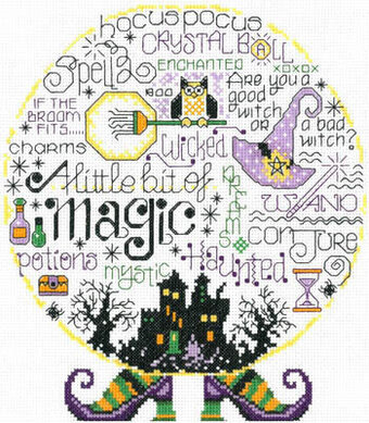 Let's Be Magical - Cross Stitch Pattern