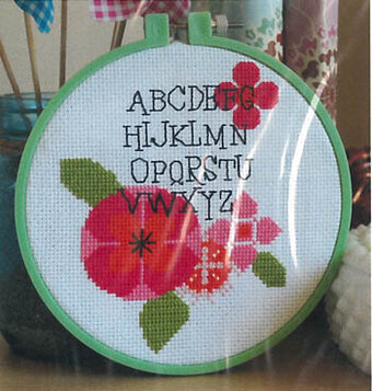Modern Flower Alphabet - Cross Stitch Pattern