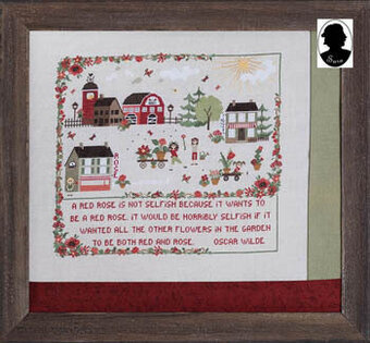 Red - Cross Stitch Pattern