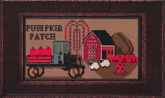 Morgan's Pumpkin Patch -  Cross Stitch Pattern