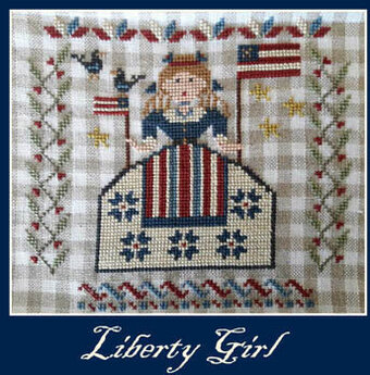 Liberty Girl - Cross Stitch Pattern