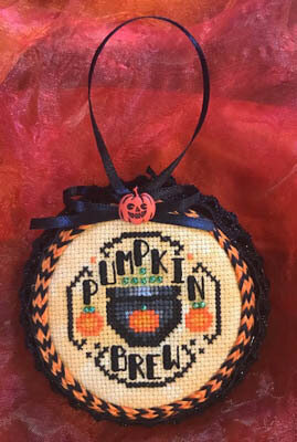Pumpkin Brew - Cross Stitch Pattern