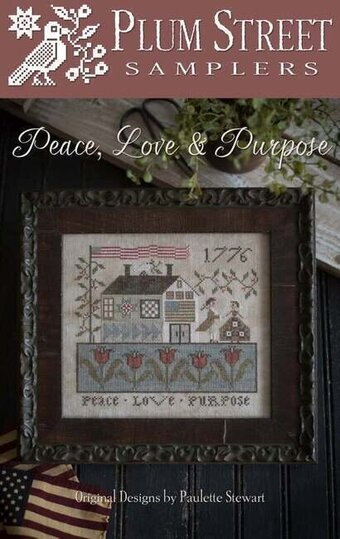 Peace Love & Purpose - Cross Stitch Pattern