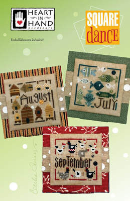 Square Dance - July August Sept - Cross Stitch Pattern