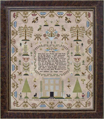 Mary Lea 1793 - Cross Stitch Pattern