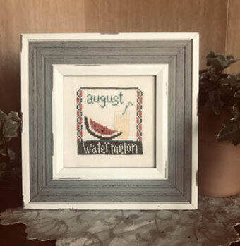 August Squared - Cross Stitch Pattern
