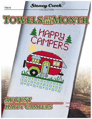 Towels of the Month - August Happy Camper