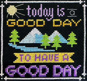 Words to Live By Part 9 - Cross Stitch Pattern