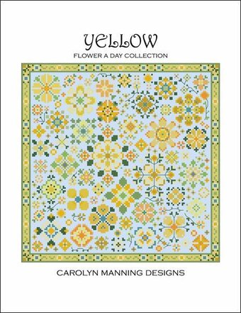 Yellow - Flower A Day - Cross Stitch Pattern