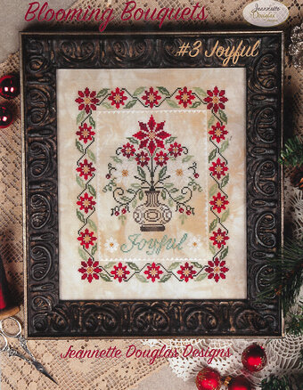 Blooming Bouquets #3 Joyful - Cross Stitch Pattern