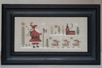 Santa Claus - Cross Stitch Pattern