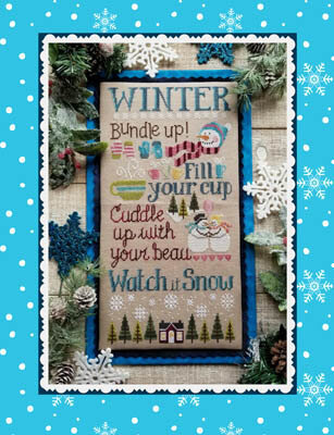 Watch It Snow - Cross Stitch Pattern