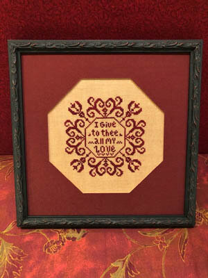 All My Love - Cross Stitch Pattern