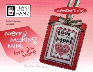Merry Making Mini - Love  You More - Cross Stitch Pattern