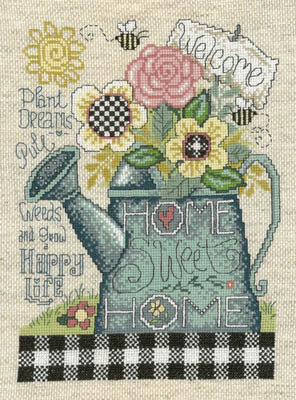 Plant Pull and Grow - Cross Stitch Pattern