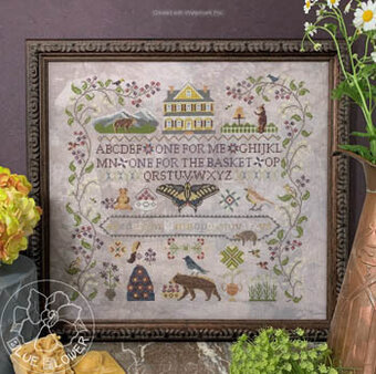 Huckleberry Farm - Cross Stitch Pattern