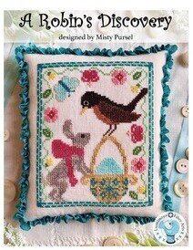 Robin's Discovery - Cross Stitch Pattern