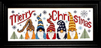 Christmas Gnomes - Cross Stitch Pattern